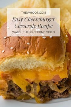 Quick And Easy Cheeseburger Casserole Recipe | The WHOot