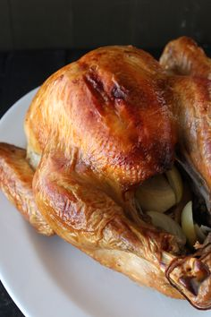 Tips and tricks for how to brine your Thanksgiving turkey for ultra juicy and tender meat! This was the BEST turkey I've ever made!