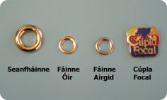 Wearing a Fáinne symbolizes your link to the Irish language. It is worn to show that you are able to and are willing to speak Irish. Whether you are a fluent speaker or a beginner, you can wear a fáinne- just pick the one that best suits your language ability. - See more at: http://www.gaelport.com/anfainne#sthash.LiDWoHPP.dpuf