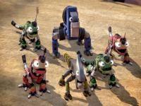 Dinozor Makineler Dinotrux Dinotrux ve Reptools denilen melez sürüngen araçlar.Artık dünya bu melez dinazor inşaat araçları ile doludur.İki sıkı dost