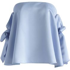 Chicwish Simple Yet Sassy Off-shoulder Top in Blue