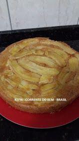 KEFIR - CORRENTE DO BEM - BRASIL - RECEITAS: Março 2017 Apple Pie, Cooking, Facebook, Desserts, Recipes, Food, Healthy Recipes, Sweets, Cook