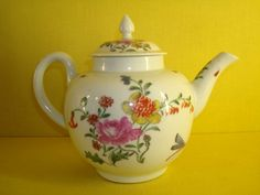 - An unusual Worcester teapot and cover