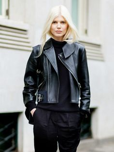 Dreamy leather jacket.