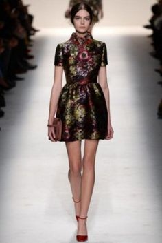 Minidress tapestry Valentino