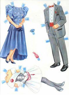Prom Night Paper Dolls.I Got This From Ebay - MaryAnn - Álbuns da web do Picasa