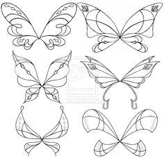 Love-ix Wings Sketch Set by ~an81angel on deviantART