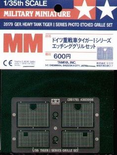 Model Artillery Kits - Tiger I Series Etched Grille 135 Tamiya *** Read more at the image link.