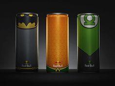 Red Bull Dosen im Superhelden-Design   KlonBlog