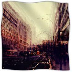 London Fleece Throw Blanket