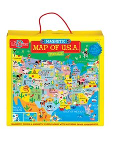 Take a look at this Map Of USA Magnetic Playboard Puzzle today!