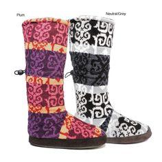Slipper boots:)