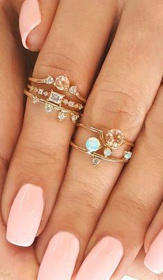 Diamonds & opals...my favs