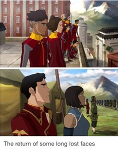 I was wondering if they were going to bring Iroh back!! Dante Basco!!