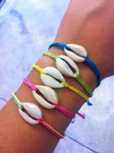 Cowrie Shell Hemp Cord Bracelet by ArmSwagg on Etsy, $2.00
