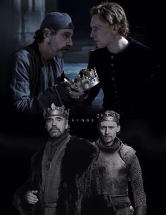 Tom Hiddleston and Jeremy Irons in the Hollow Crown