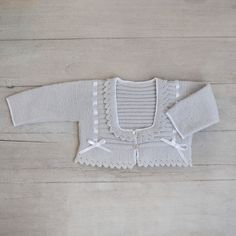 Items similar to Baby Cardigan hand knitted on Etsy Baby Knitting Patterns, Kids Patterns, Knitting For Kids, Hand Knitting, Baby Vest, Baby Cardigan, Cute Cardigans, Baby Sweaters, Crochet Baby