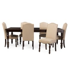 Pottery Barn Montego Square Leg Dining Table And 8 Aaron