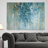 Found it at Wayfair - 'I Love the Rain' Painting Print on Wrapped Canvas