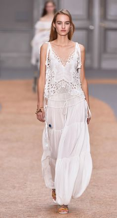 Look 38 from the Chloé Spring-Summer 2016 collection