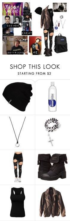 """""""me in Malcolm in the middle"""" by j-j-fandoms ❤ liked on Polyvore featuring Hurley, Chapstick, FOSSIL, Bling Jewelry, Marc by Marc Jacobs, Free People and JanSport"""