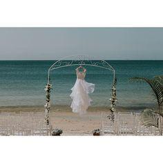 Vestido  mar verde esmeralda =  by simonelobo