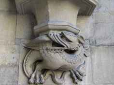 Dragon Gargoyle Westminster Abbey