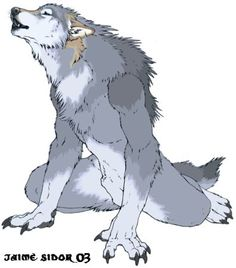 Female Werewolves | silver fured female werewolf in her human form she is a beautiful ..