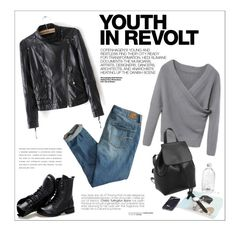 """Youth In Revolt"" by aurora-australis ❤ liked on Polyvore featuring American Eagle Outfitters, Hedi Slimane and Sunsteps"