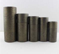 Paper jar kraft paper box round cylinder oil bottle packaging cardboard tube for gift/jewelry/cosmetics/liquid bottle/essential