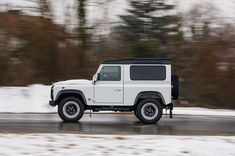 Built to celebrate the anniversary of Britain's iconic off-roader, the Works is everything a Land Rover Defender shouldn't be. Landrover Defender, Defender 90, Jaguar Land Rover, New Jaguar, Shock And Awe, Classic Car Insurance, Sport Seats, Transfer Case, Performance Cars
