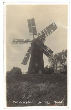 Holgate Windmill in the 1930's