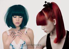 Hairstyles with Straight Bangs  #hairstyles #bangs #straightbangs