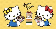 Hello Kitty Pictures, Twin Sisters, Sanrio, Beer, Fictional Characters, Friendship, Gatos, Colors, Backgrounds