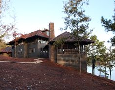 Lake Martin, AL, love the architecture of the homes there..