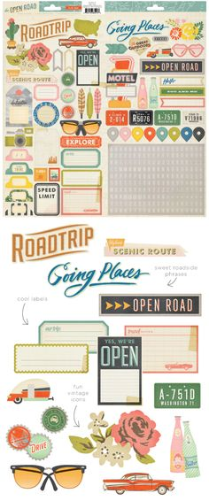 Crate Paper. Open Road collection. Lands in retail stores in mid May 2014.