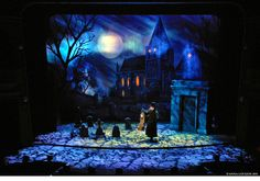 The Mystery of Edwin Drood. Studio 54. Scenic design by Anna Louizos. 2012