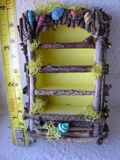Jenny's Minis, Fairy Dollhouse China Cabinet by josmund