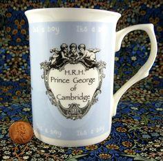 Birth Of Prince George Mug Adderley William And Kate English #princegeorge