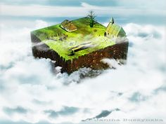 Small world in the clouds