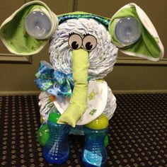 Elephant diaper cake... I want this years from now when i am gonna have a baby