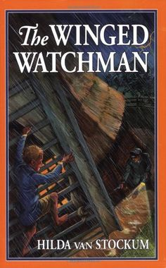 The Winged Watchman by Hilda Van Stockum ... with Ramona. So much fun to share with her the same books I read to my older daughters.
