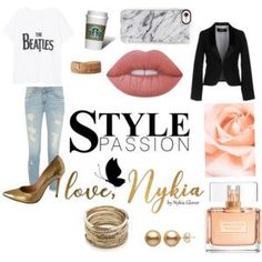 I'm in a #GoldFierce kinda mood. #ilovemyshoes  Keep it Simple - Jeans - Nude Lips - White T/Blazer and top it off with some BAADDD heels   #fashion #style #stylish #love #socialenvy #PleaseForgiveMe #me #cute #photooftheday #nails #hair #beauty #beautiful #instagood #pretty #swag #pink #girl #eyes #design #model #dress #shoes #heels #styles #outfit  #jewelry #shopping