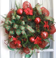 Southern Charm Wreaths: Christmas Wreath Order Sold