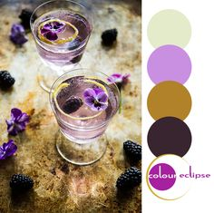 1000 images about color palettes on pinterest paint - Brown and violet combination ...