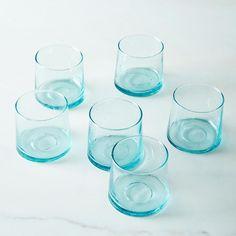 Handblown Moroccan Glass Tumblers (Set of 6)