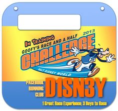 Hoedl Disney World Marathon/Goofy Challenge Training - Homepage