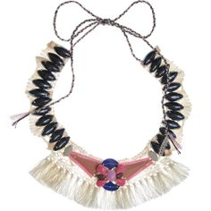 Emma Cassi » Fringe lace necklace by Emma Cassi (handmade lace jewellery)