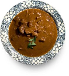 Суп из бычьего хвоста (Ochsenschwanzsuppe)
