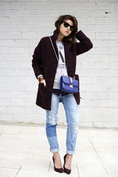 タッチ・オブ・ブルー   FashionLovers.biz